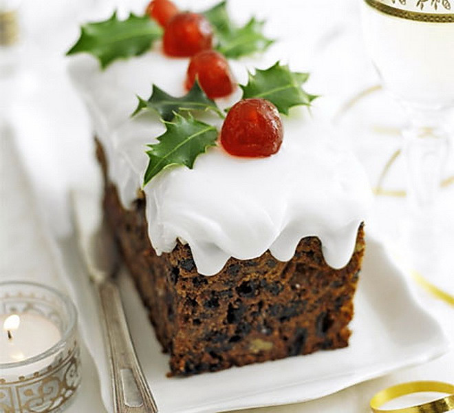 Cheap Christmas Desserts  Dried Fruit Snowy Christmas Cake – Cheap Easy & Healthy