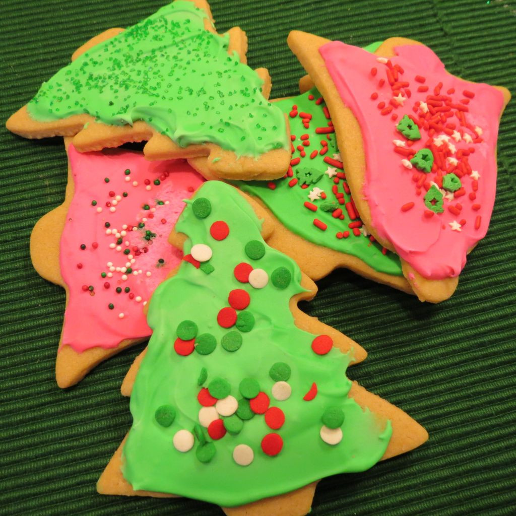 Chewy Christmas Cookies  Chewy Cutout Christmas Cookies