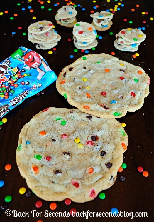 Chewy Christmas Cookies  Soft and Chewy M&M Sugar Cookies Back for Seconds