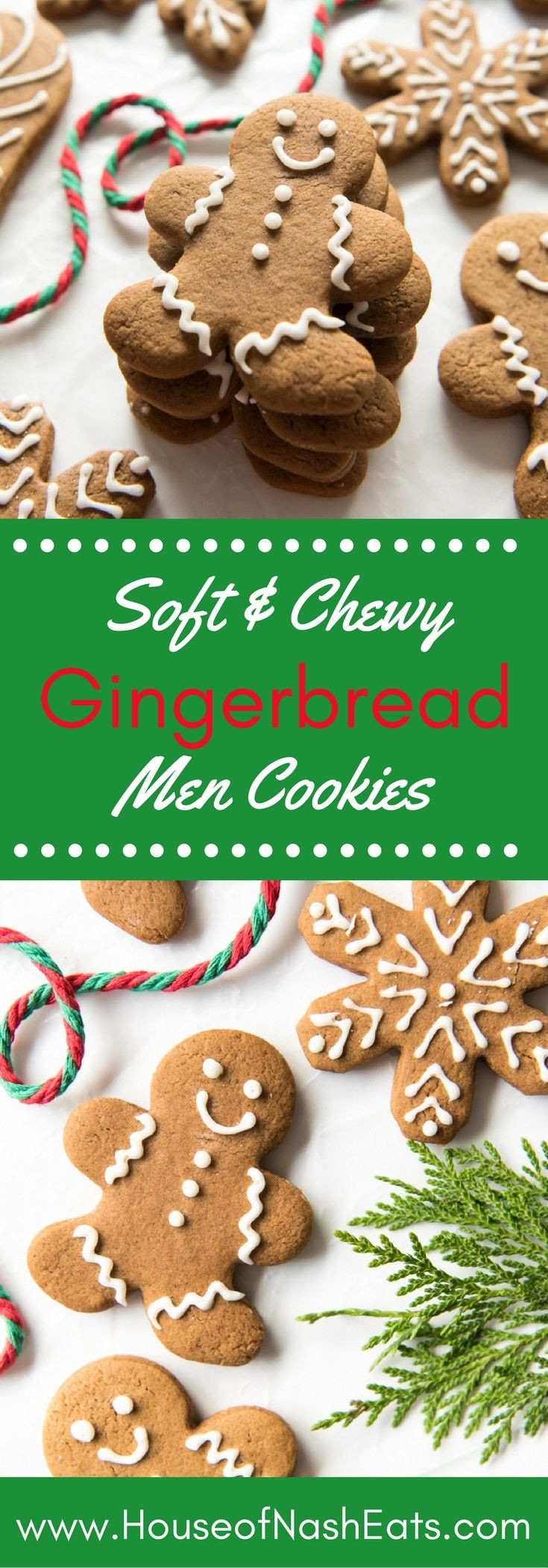 Chewy Christmas Cookies  Soft & Chewy Gingerbread Men Cookies Recipe