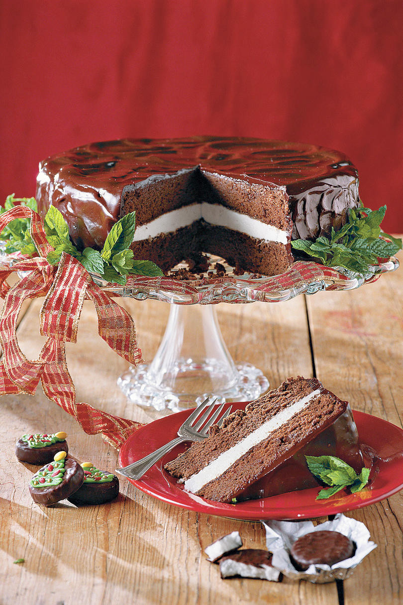 Chocolate Christmas Desserts  Heavenly Holiday Desserts Southern Living