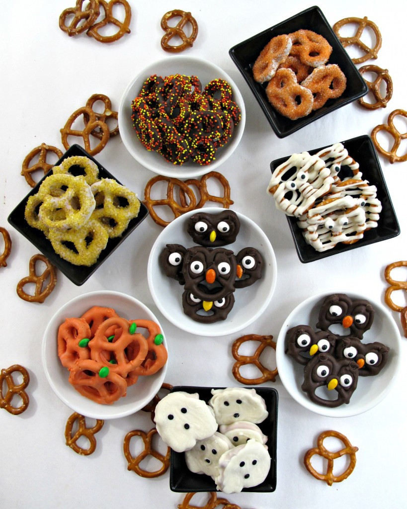 Chocolate Covered Pretzels Halloween  Halloween Pretzels easy fast and fun The Monday Box