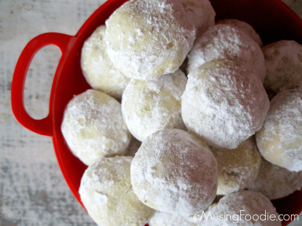 Christmas Almond Cookies  Almond Lime Snowball Cookies