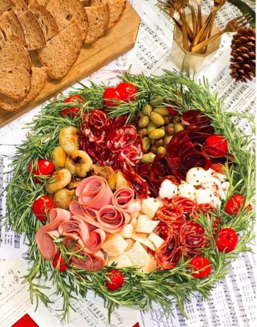 Christmas Appetizers 2019  antipasto Buffets in 2019