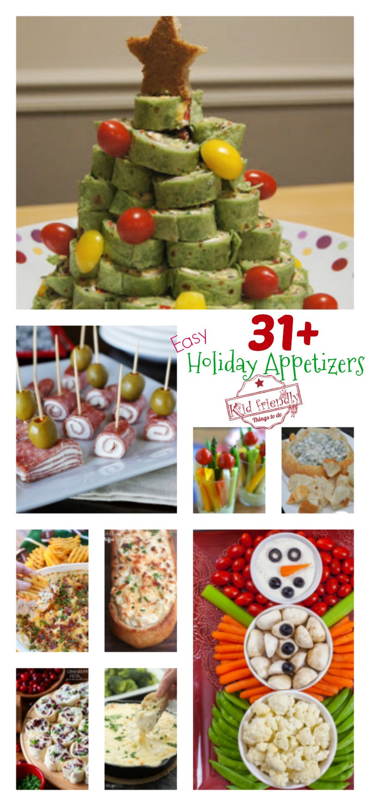 Christmas Appetizers Easy  Over 31 Easy Holiday Appetizers to Make for Christmas New