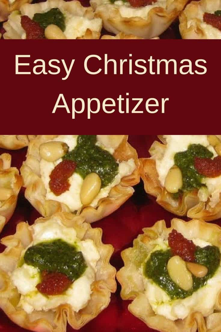 Christmas Appetizers Easy  Easy Christmas Appetizer Savory Tartlets