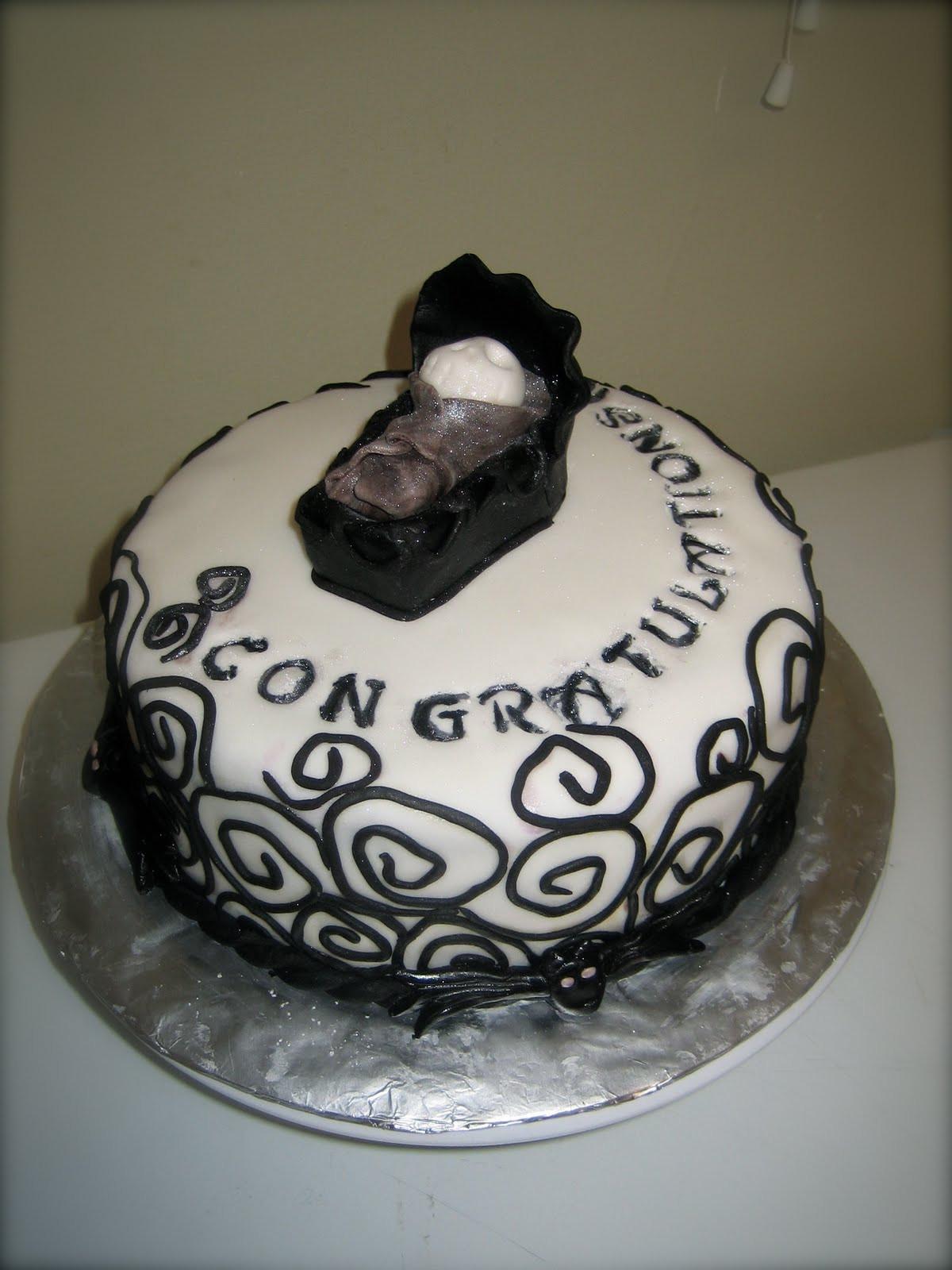 Christmas Baby Shower Cakes  Sweet & Simple Custom Cake Design April 2011