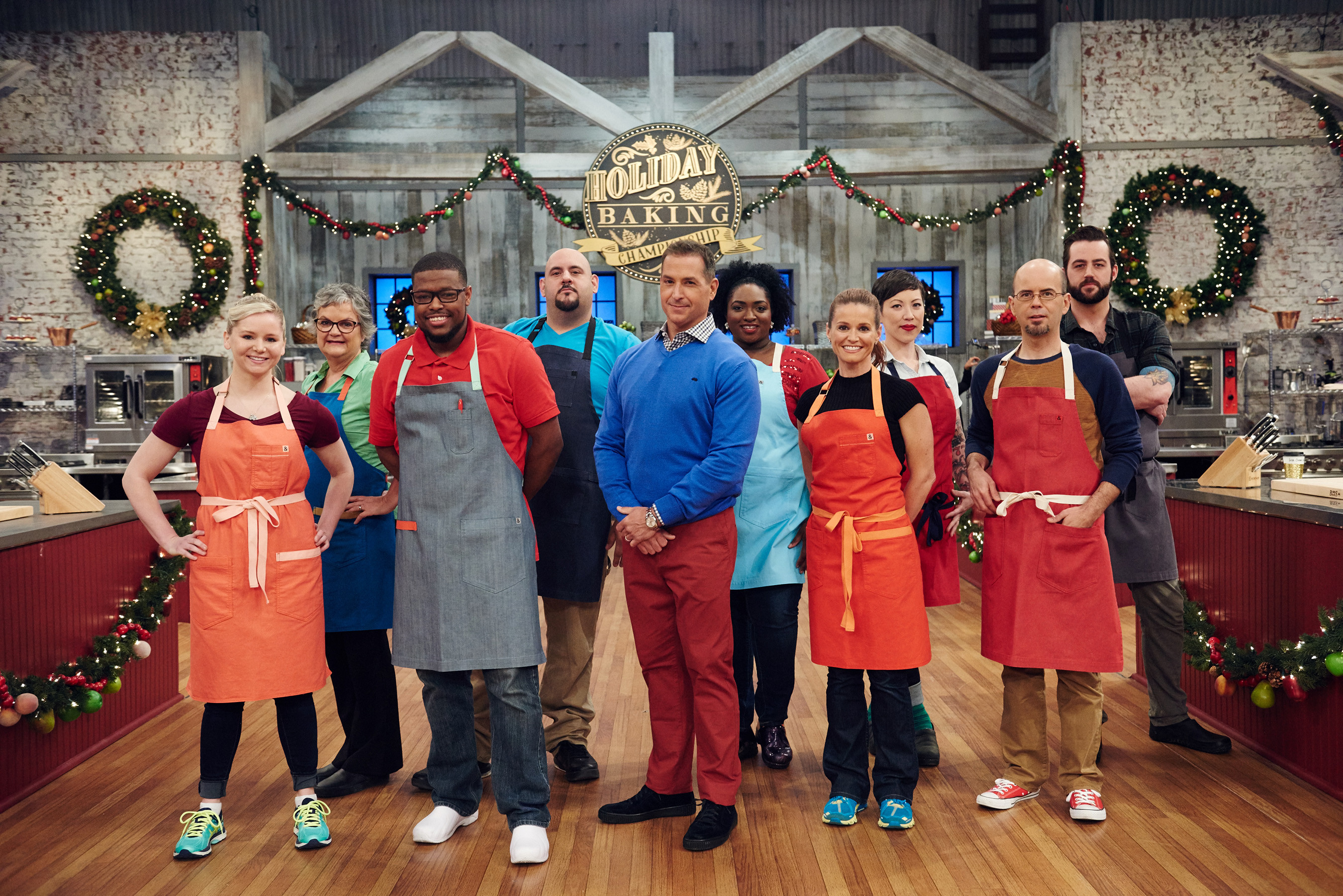 Christmas Baking Championship  A New Batch Talented Bakers Aim To Sleigh The
