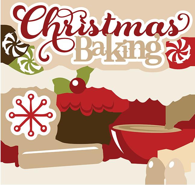 Christmas Baking Clipart  Christmas Baking SVG free svgs cute christmas clipart cute