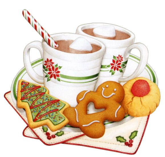 Christmas Baking Clipart  51 best HOT CHOCOLATE AND COFFEE CLIPART images on