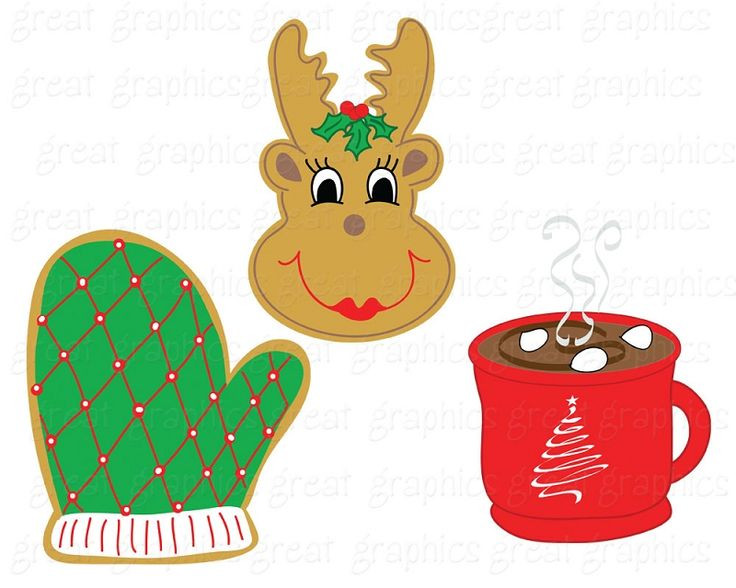 Christmas Baking Clipart  100 best Christmas Cookies images on Pinterest