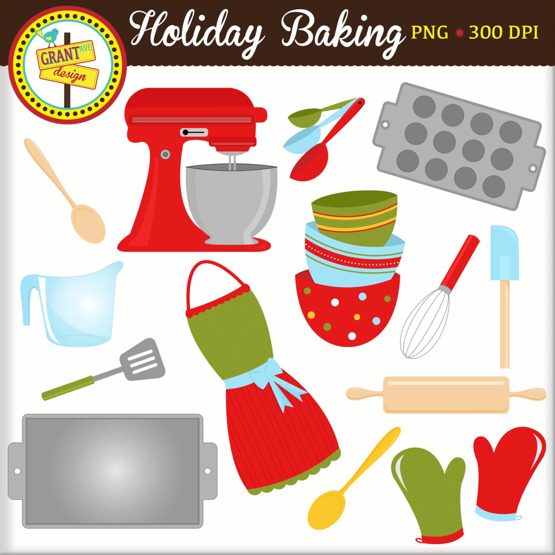 Christmas Baking Clipart  Holiday Baking Clipart Christmas Clipart Christmas Clip