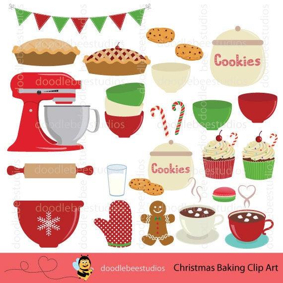 Christmas Baking Clipart  Christmas Baking Clipart Baking Clipart Baking Utensils Clip