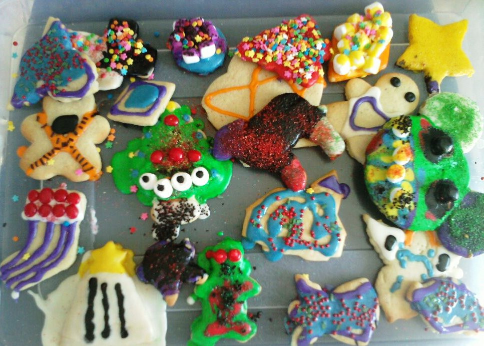 Christmas Baking For Kids  AimeeJo Desserts Neighborhood Kids Christmas Cookie