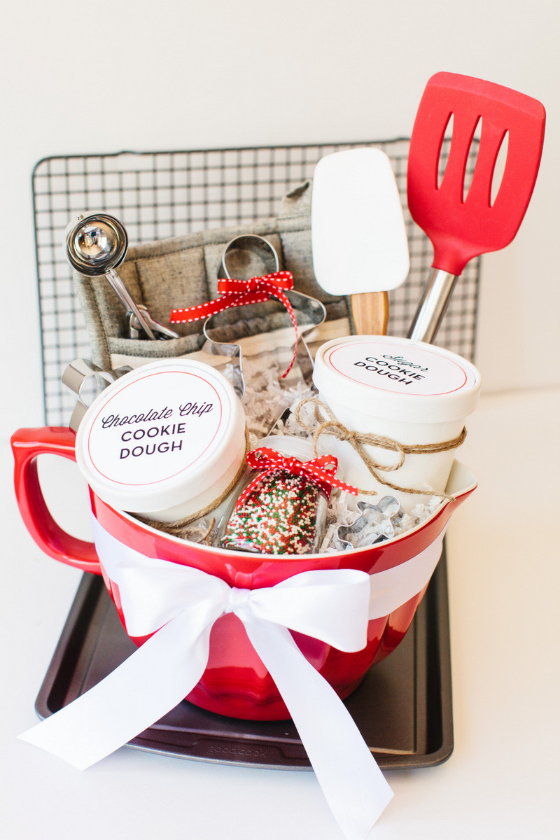 Christmas Baking Gifts  Holiday Cookie Gift Basket