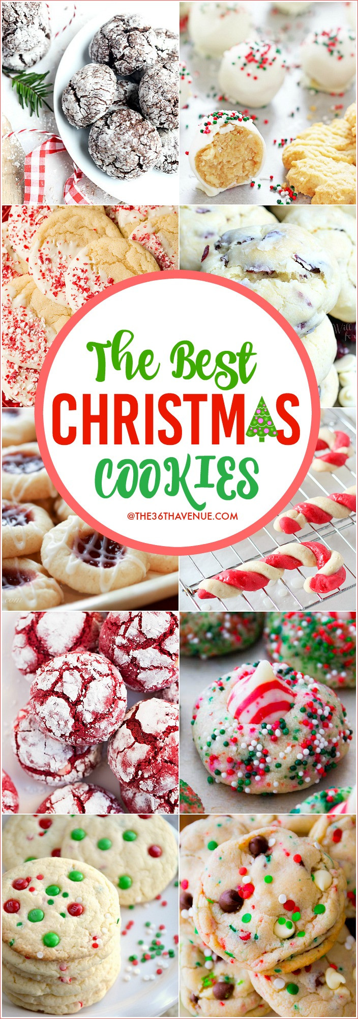 Christmas Baking Gifts  Christmas Cookies Easy Christmas Recipes The 36th AVENUE