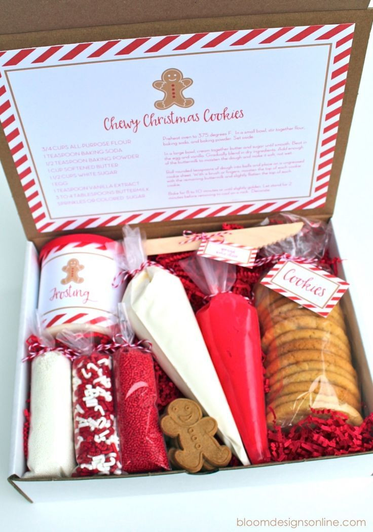 Christmas Baking Gifts  Gift Basket Recipes Holiday Ideas