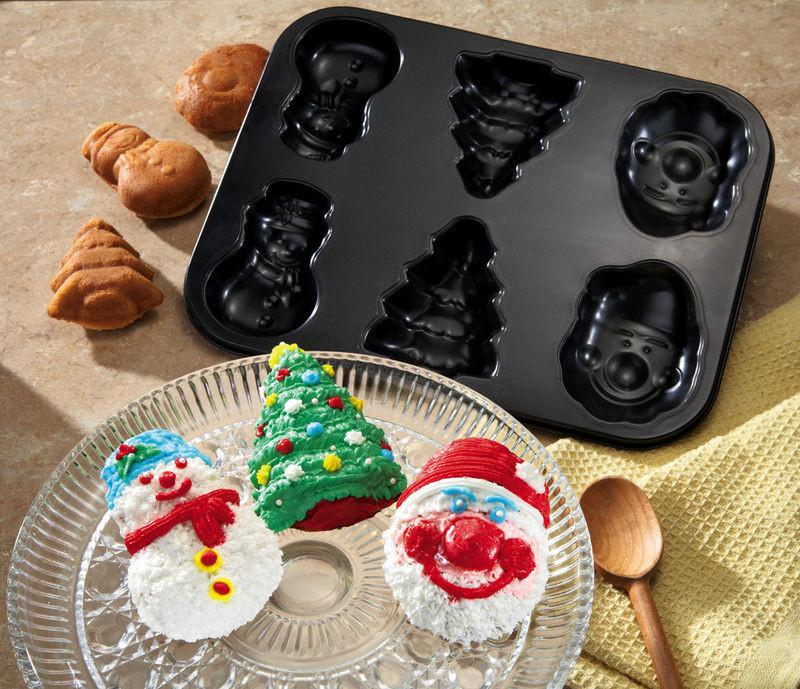 Christmas Baking Pans  Christmas Shapes Holiday Carbon Steel Baking Pan New
