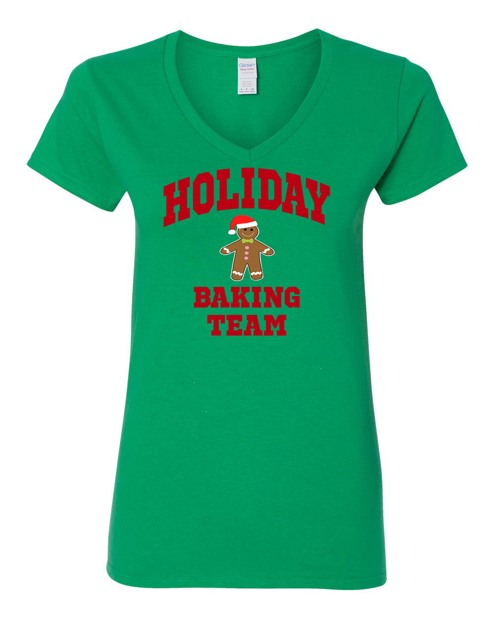 Christmas Baking Shirts  Holiday Baking Team Christmas Cookies Womens V Neck T