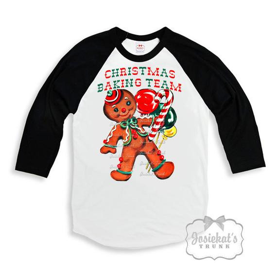 Christmas Baking Shirts  ChristmasCookie Shirt Gingerbread Christmas Tshirt