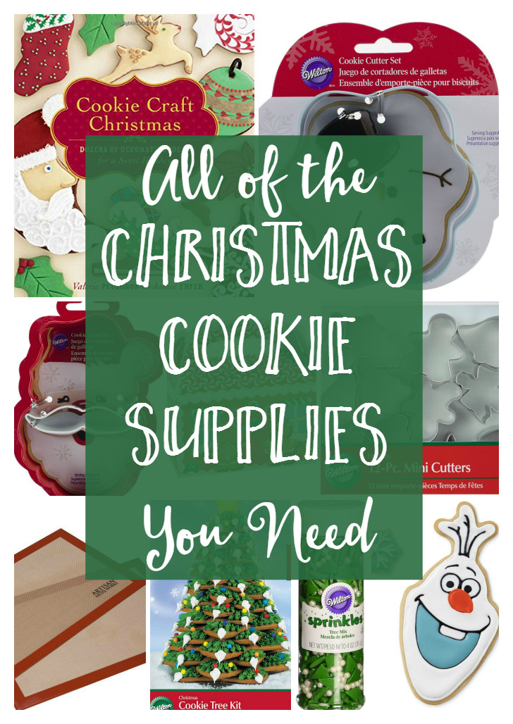 Christmas Baking Supplies  Christmas Cookie Supplies The Shirley Journey