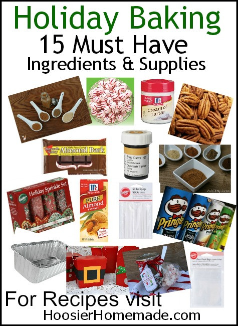Christmas Baking Supplies  Holiday Baking 15 Must Have Ingre nts and Supplies