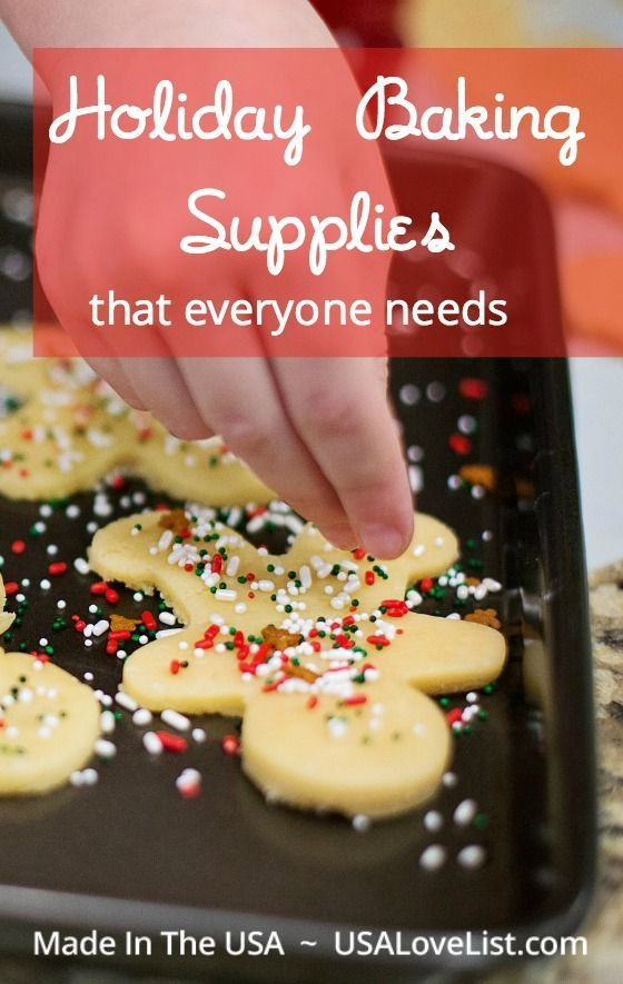 Christmas Baking Supplies  17 Best images about Baking Necessities on Pinterest