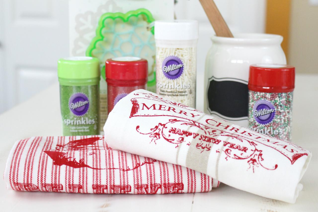 Christmas Baking Supplies  Holiday Baking Kit in Jar