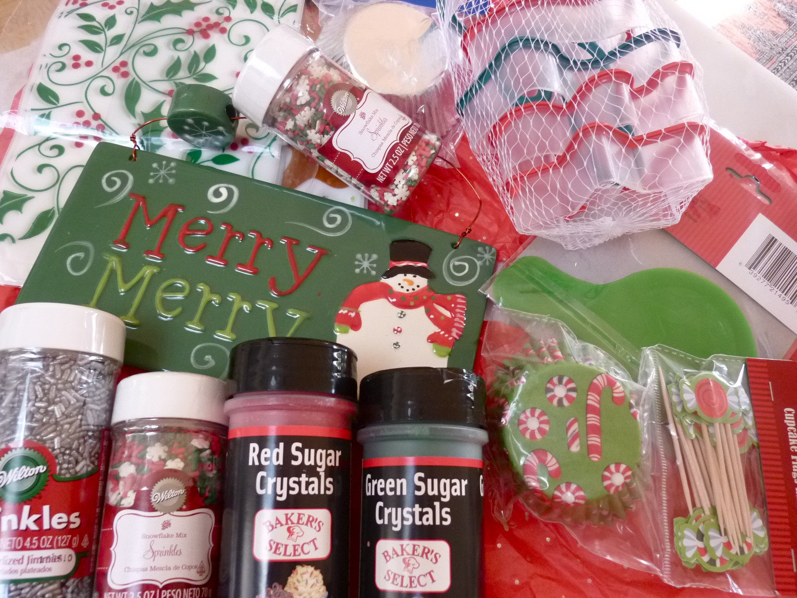 Christmas Baking Supplies  A Roundup of Last Year s Holiday Baking – Diary of a Mad