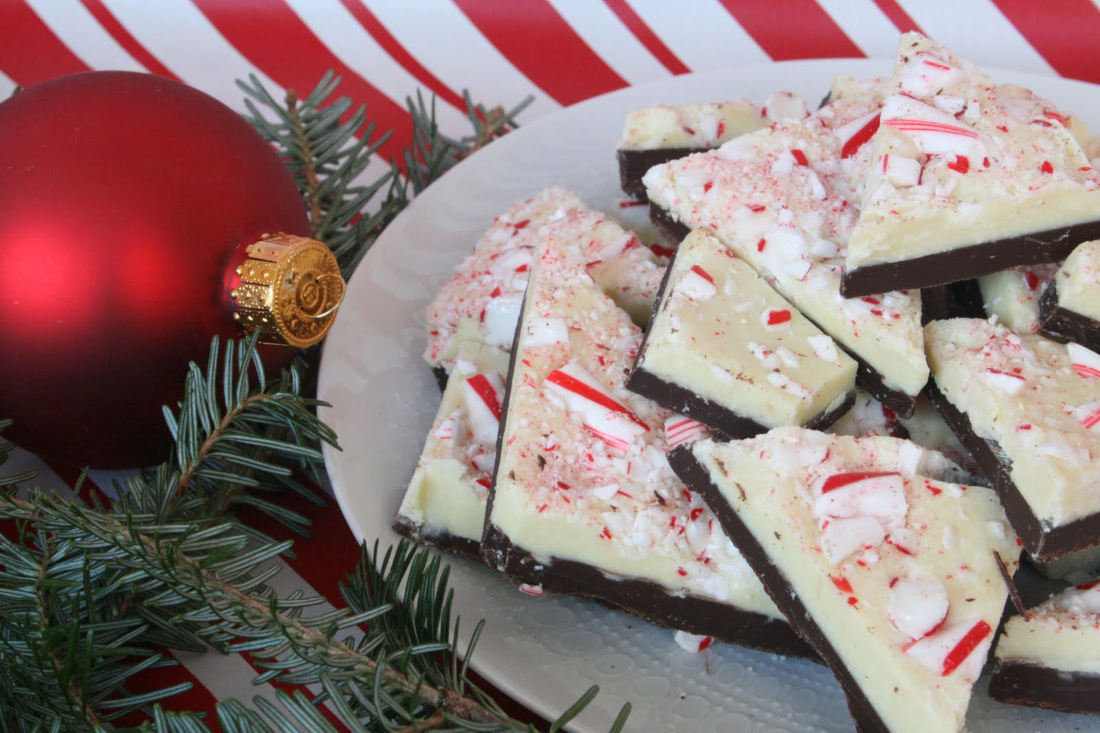 Christmas Bark Candy  Adventures Made from Scratch Christmas Peppermint Bark