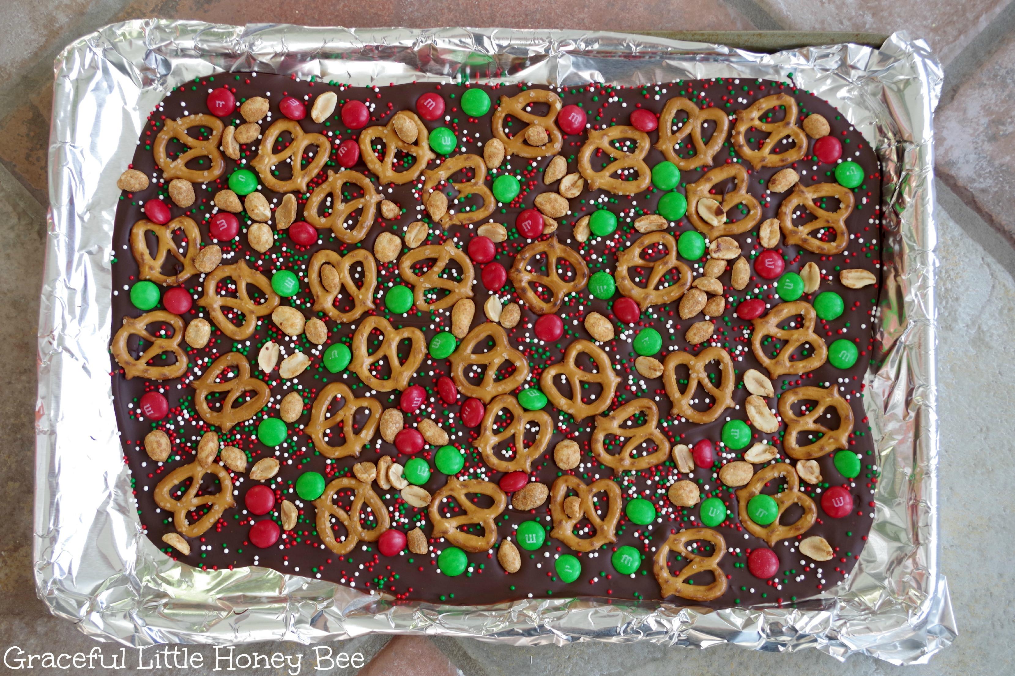 Christmas Bark Candy  Easy Christmas Bark Graceful Little Honey Bee