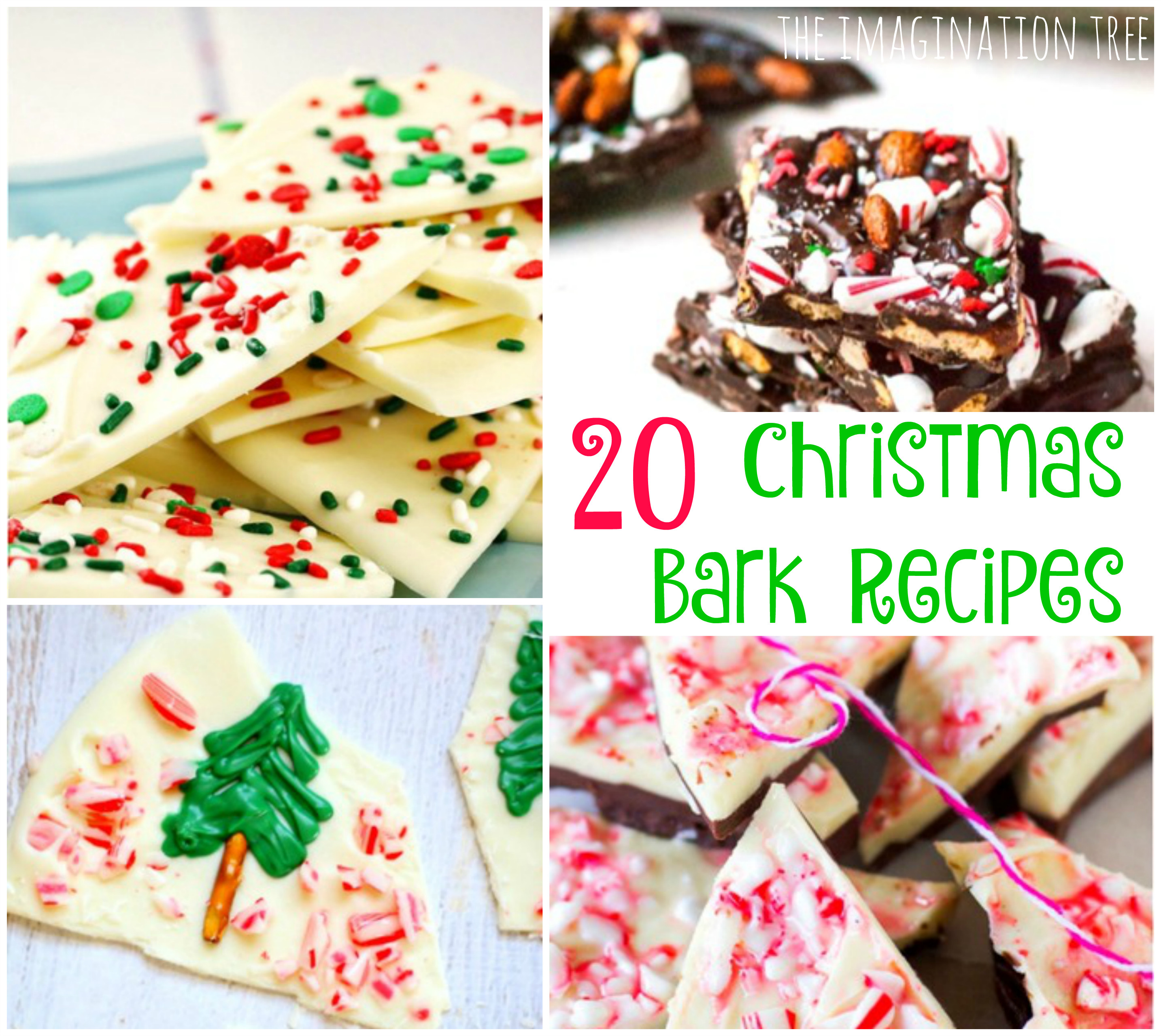 Christmas Bark Candy  20 Christmas Bark Recipes The Imagination Tree