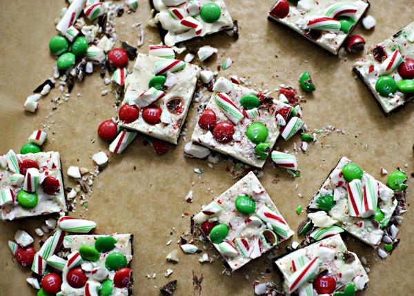 Christmas Bark Candy  Christmas Chocolate Bark [Week 10 of 12 Weeks of Cookies
