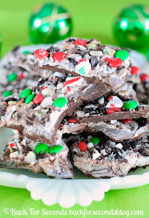 Christmas Bark Candy Recipe  Easy Christmas Bark Recipe Back for Seconds