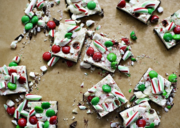 Christmas Bark Candy Recipe  Christmas Chocolate Bark [Week 10 of 12 Weeks of Cookies