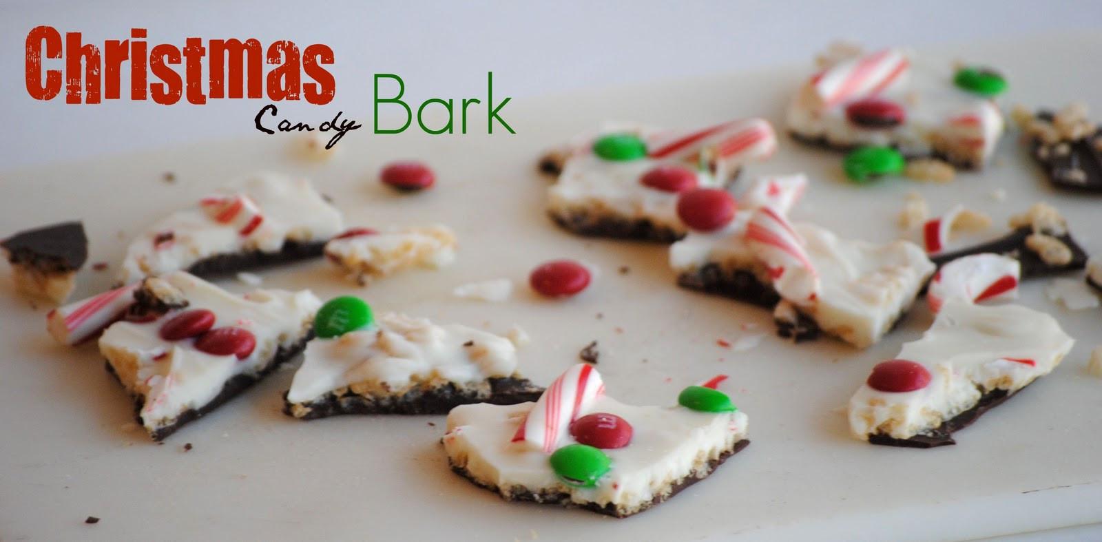 Christmas Bark Candy Recipe  The Farm Girl Recipes Christmas Candy Bark