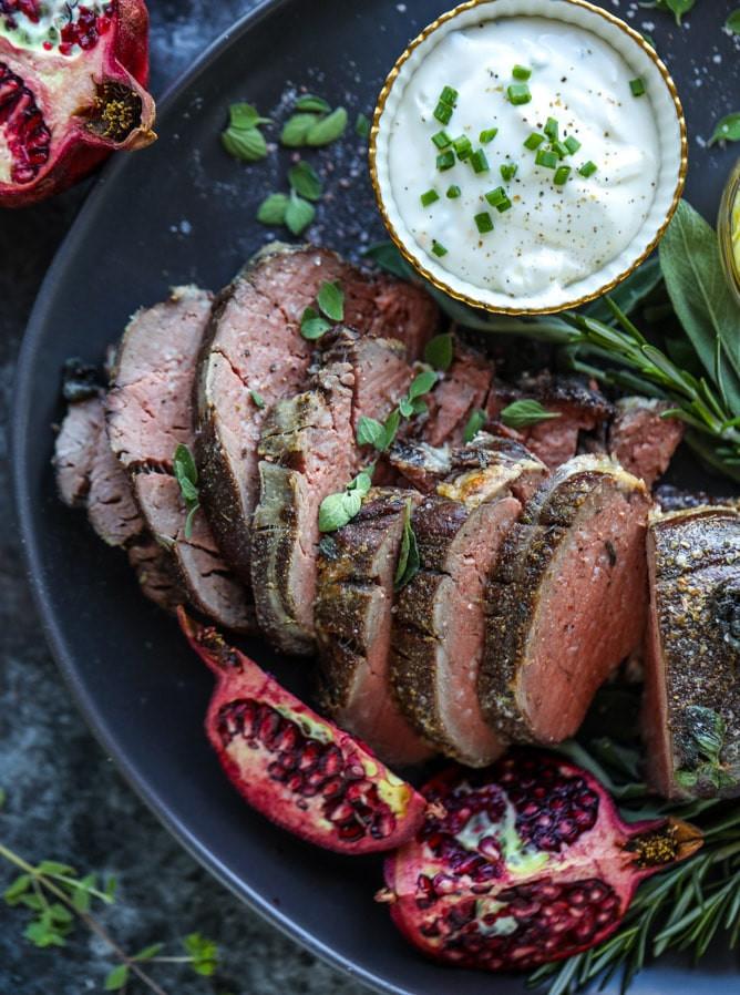 Christmas Beef Tenderloin Recipe  Best Beef Tenderloin Recipe Roasted Butter and Herb Beef