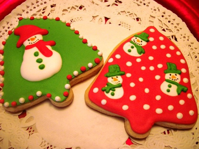 Christmas Bell Cookies  388 best Iced biscuits Christmas images on Pinterest