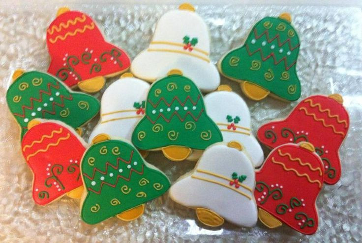 Christmas Bell Cookies  christmas bell cookies Google Search