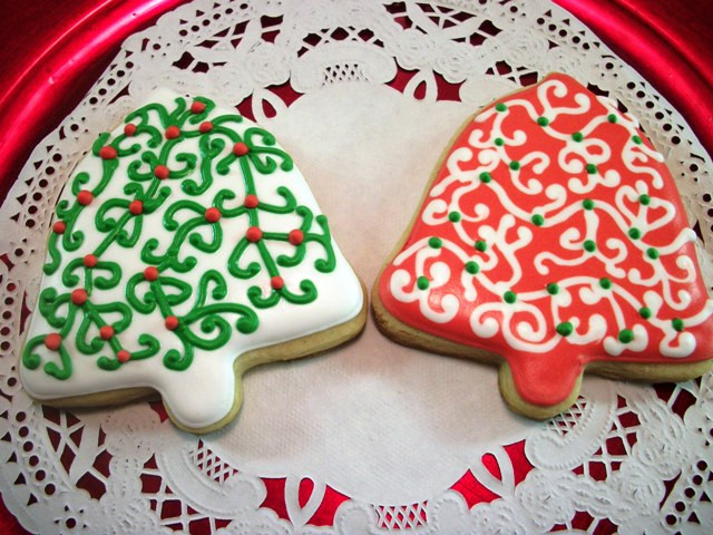 Christmas Bell Cookies  Christmas Treats For School Party by nithya
