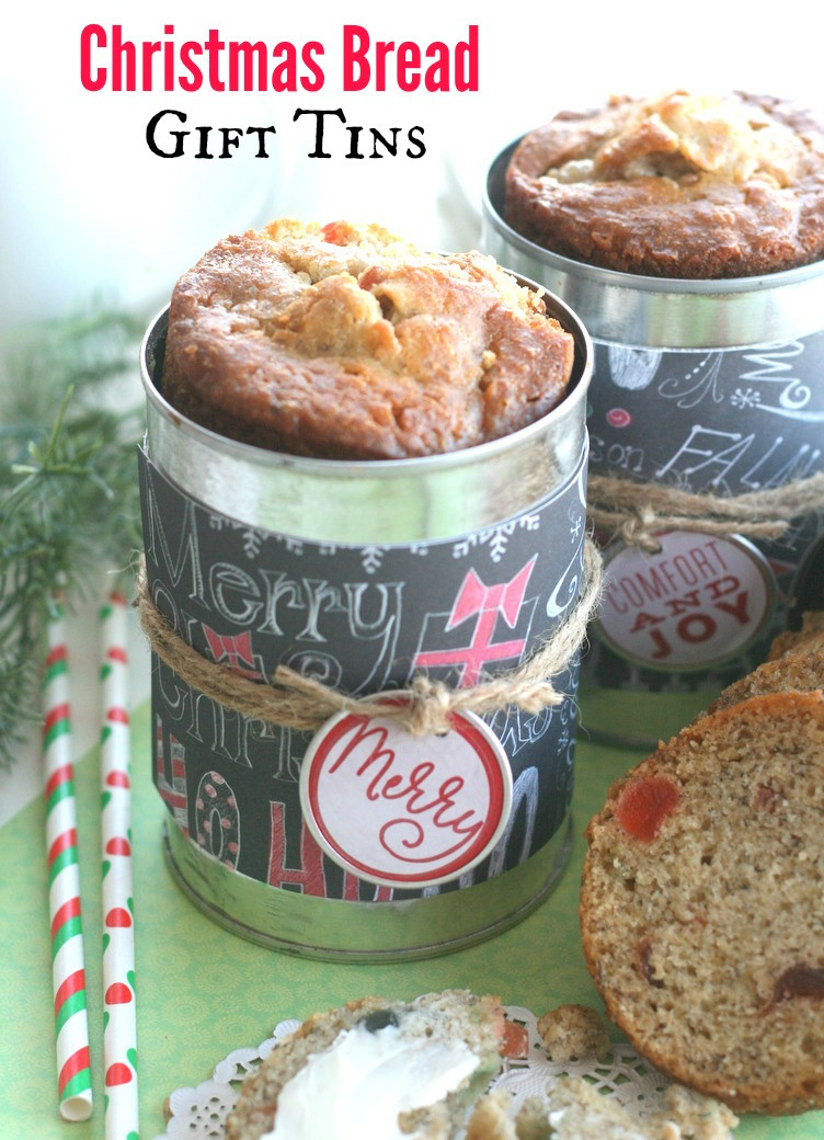 Christmas Bread Gifts  Christmas Bread Gift Tins Echoes of Laughter