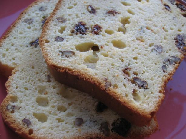 Christmas Bread Receipes  Holiday Rum Eggnog Bread Recipe Food