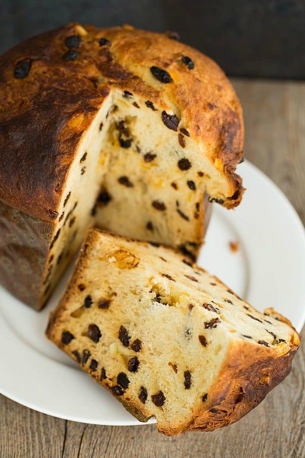Christmas Bread Receipes  Panettone Recipe