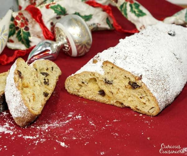 Christmas Bread Receipes  Stollen German Christmas Bread • Curious Cuisiniere
