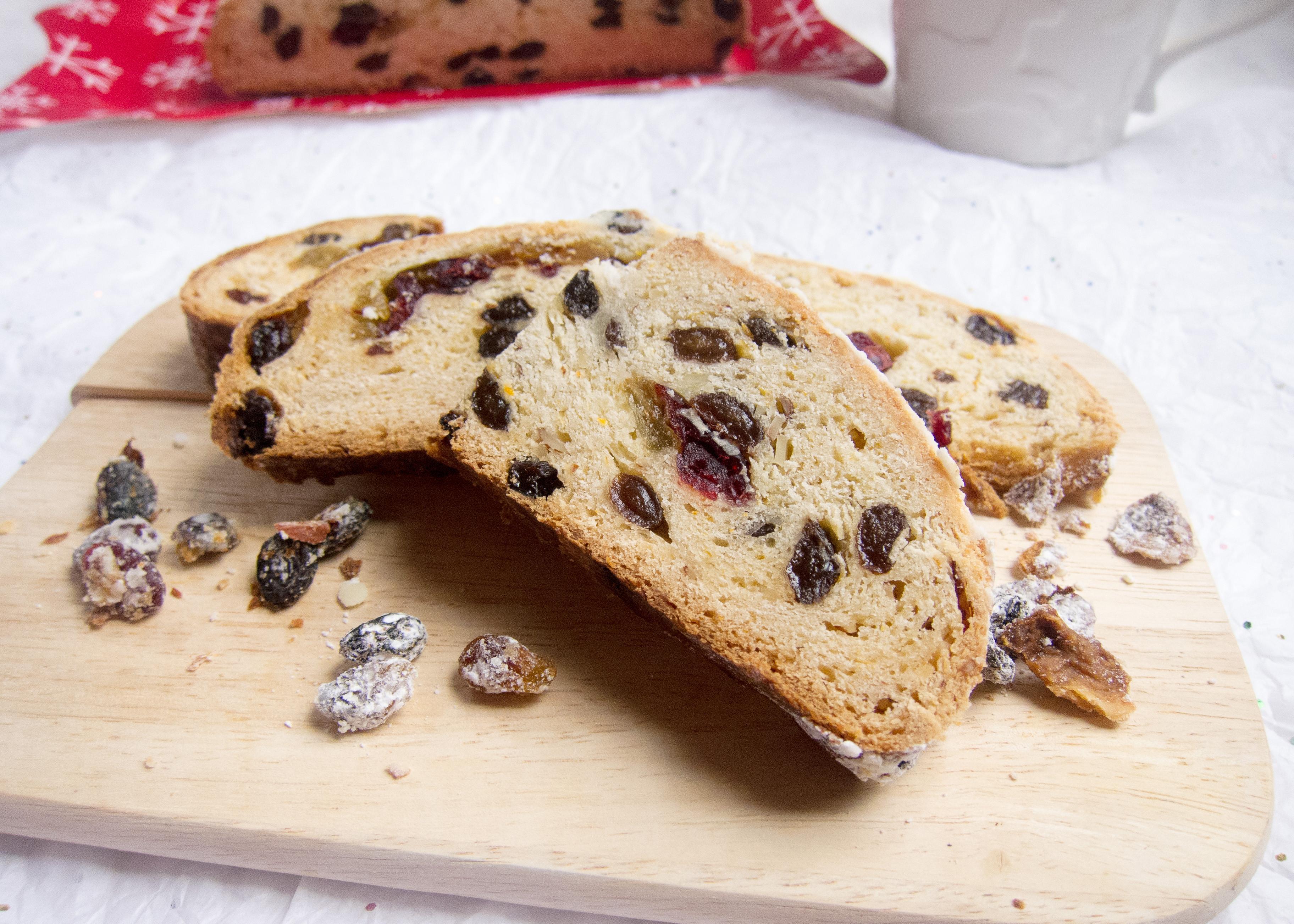 Christmas Bread Recipe  German Christmas Stollen Recipe Christmas Bread