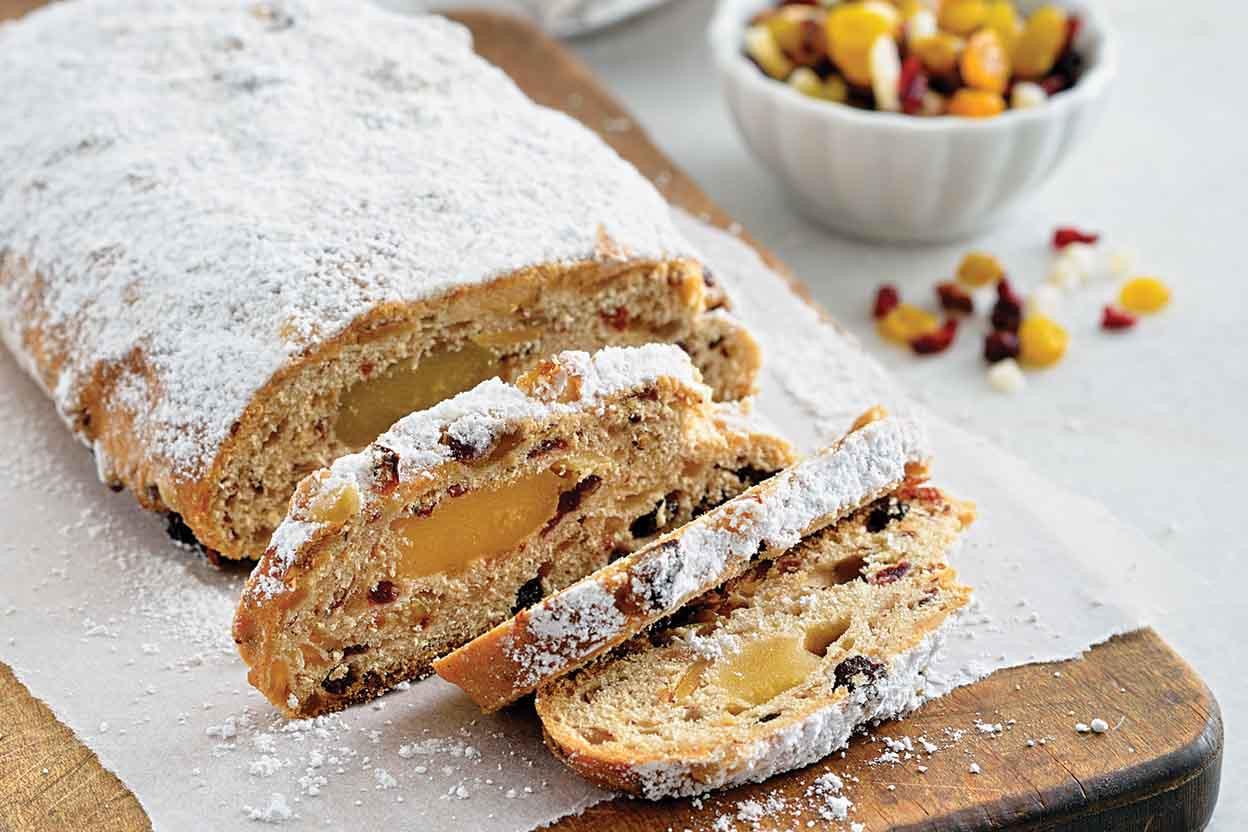 Christmas Bread Recipe  Christmas Stollen Recipe
