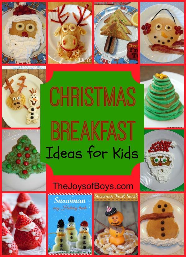 Christmas Breakfast Ideas For Kids  Snowman Pancakes Fun Christmas Breakfast The Joys of Boys