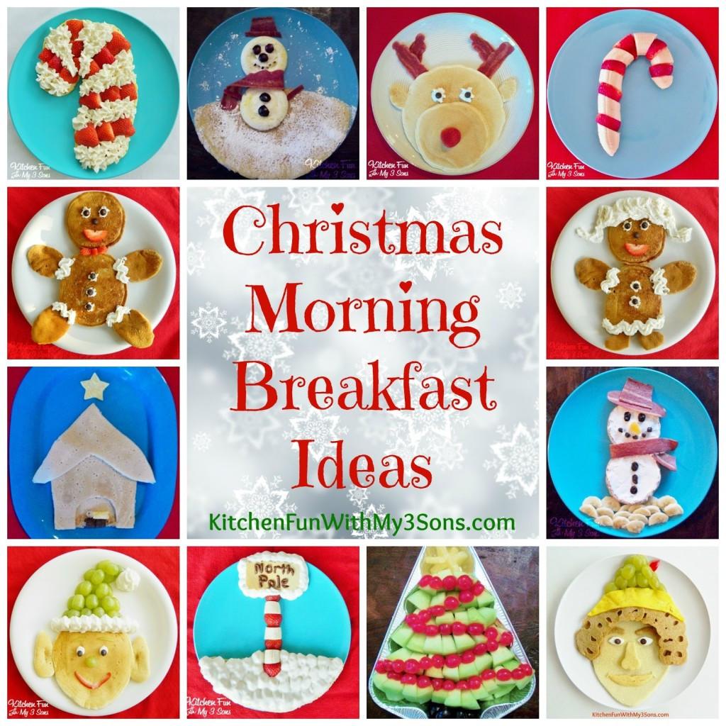Christmas Breakfast Ideas For Kids  Rudolph Pancakes for a Christmas Breakfast Kitchen Fun
