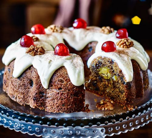 Christmas Bundt Cake Recipes  Marzipan in the middle bundt cake recipe