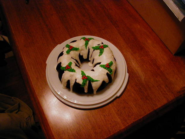 Christmas Bundt Cakes Recipes  Easy Christmas Holly Bundt Cake Recipe Food